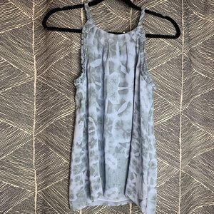 Banana Republic • Silk High Collar Tank